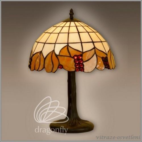 Vitrážová stolní lampa G122492 (KAndo)