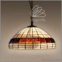 Vitrážový lustr P181251-2 Olymp (Kando)