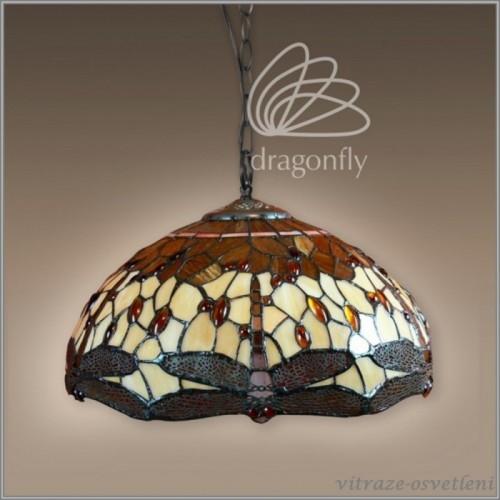 Vitrážový lustr Tangerine P161467B (Kando)