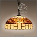 Vitrážový lustr P16907 Noble (Kando)