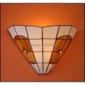 Vitrážová nástěnná lampa AM-N30