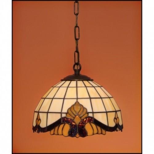 Vitrážový lustr Baroko 23
