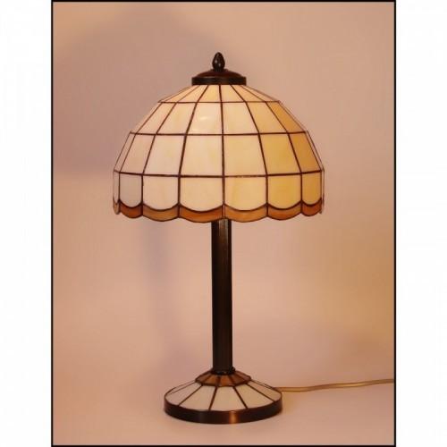 Vitrážová stolní lampa AIRA-S1 Ø25, Ø20