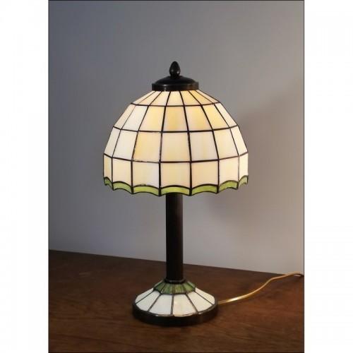 Vitrážová stolní lampa AR20-S Ø20
