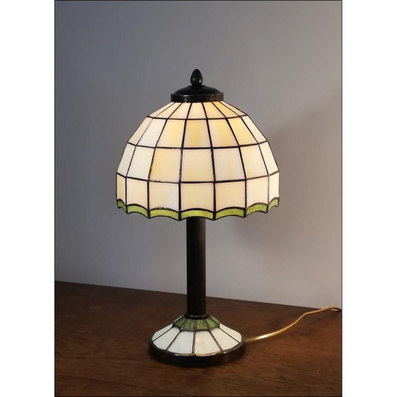 Vitrážová stolní lampa AIRA 20-S2 Ø20