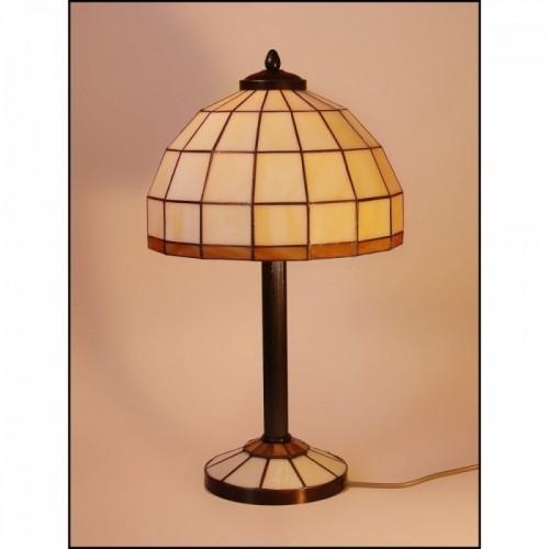 Vitrážová stolní lampa AR25-S3 Ø25