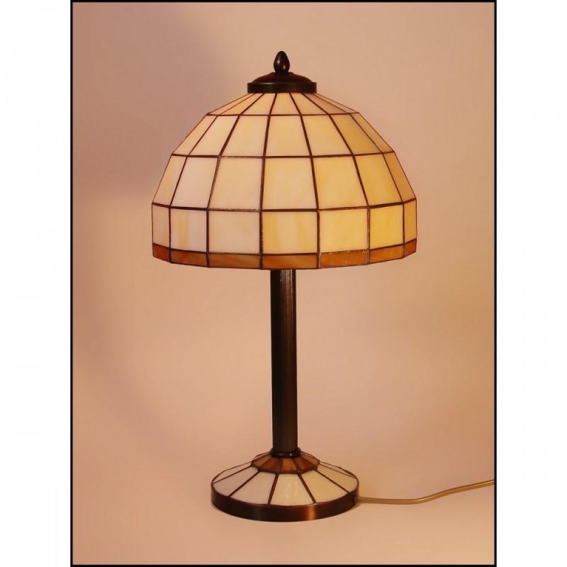 Vitrážová stolní lampa AIRA -S3 Ø20, Ø25
