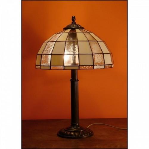 Vitrážová stolní lampa Moden 30