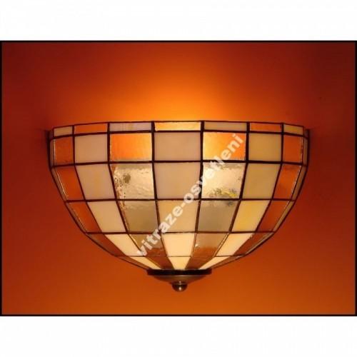 Vitrážové nástěnné svítidlo Modern 30