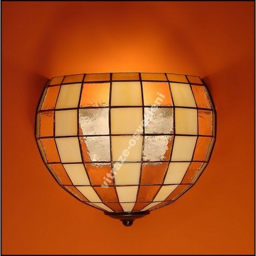 Vitrážové nástěnné svítidlo Modern 25