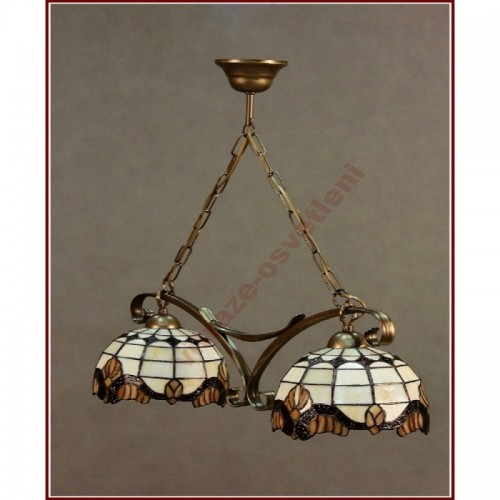 Lustr Tiffany 2 PME 25 (vitraze-osvetleni)