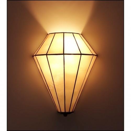Nástěnné vitrážové svítidlo Art Deco 25