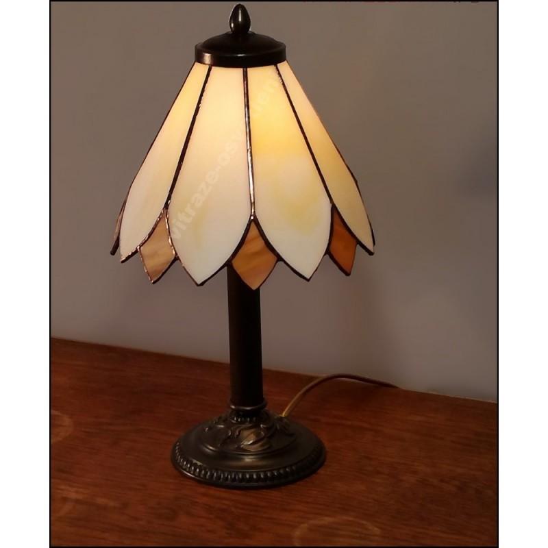 Stolní vitrážová lampa Kira 20