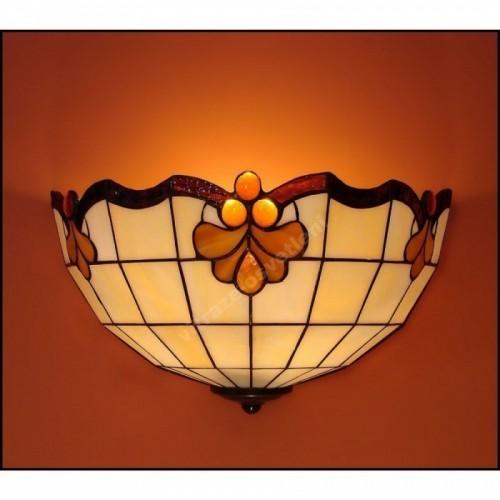 Nástěnné vitrážové svítidlo Retro 30