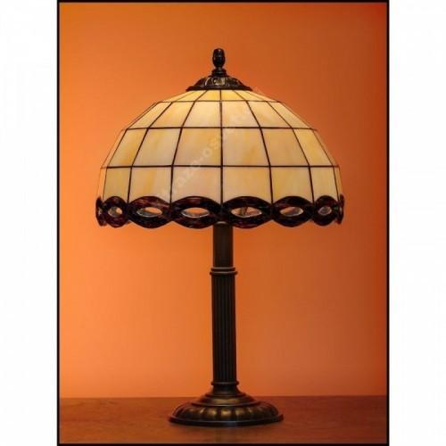 Stolní lampa Tiffany Zmijka 30, Ø30 cm, 48 cm