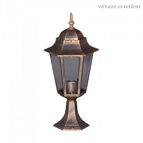 Zahradní lampa 15006SL, v. 51 cm, 1xE27/60W
