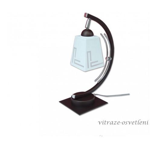 Moderní stolní lampa 290-S1 s regulací stínidla