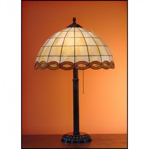 Stolní lampa Tiffany Falko 40, Ø40 cm, 60 cm