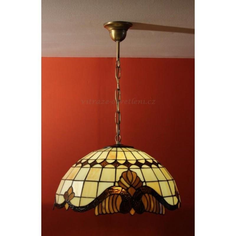 Závěsné svítidlo Tiffany ZME 41, E27/60W (vitraze-osvetleni)