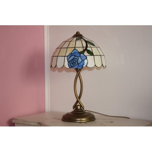 Tiffany stolní lampa LMR30, Ø30 cm