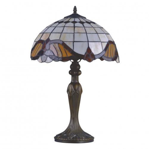 Stolní lampa Tiffany G121122 Barok (Kando)