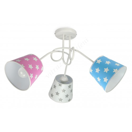 Lustr dětský stropní LED LUX262-X3