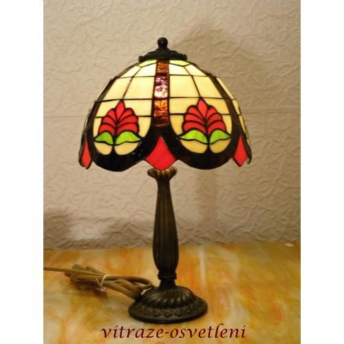 Tiffany stolní lampa Jung 22