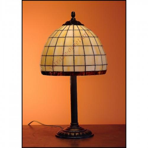 Tiffany stolní lampa Kiska 25