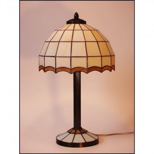 Tiffany stolní lampa AIRA 25-S2 Ø25