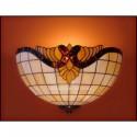 Vitrážové nástěnné svítidlo Baroko -N 30