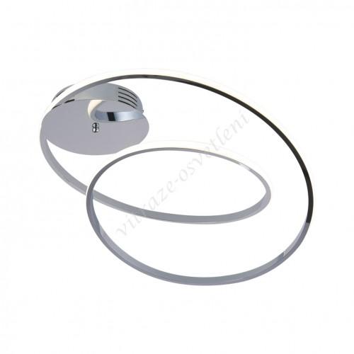LED lustr stropní KI-8043 Iluze CHrom-45W/3150 lm