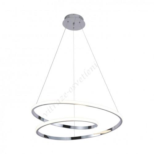 LED lustr závěsný KI-8049 Iluze CHrom-60W/4200 lm