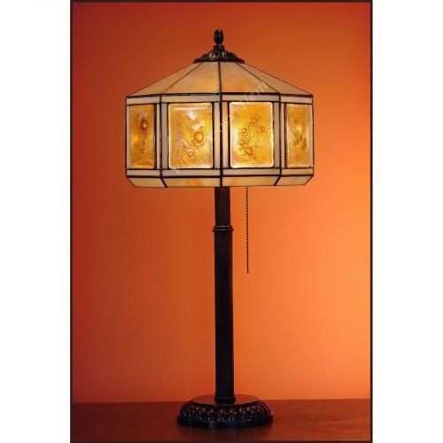 Vitrážová stolní lampa Tusarf S30