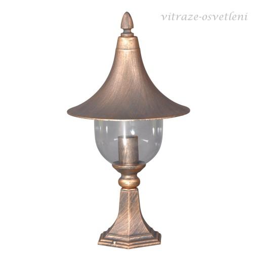 Zahradní lampa 15038 SZ, 1xE27/60W