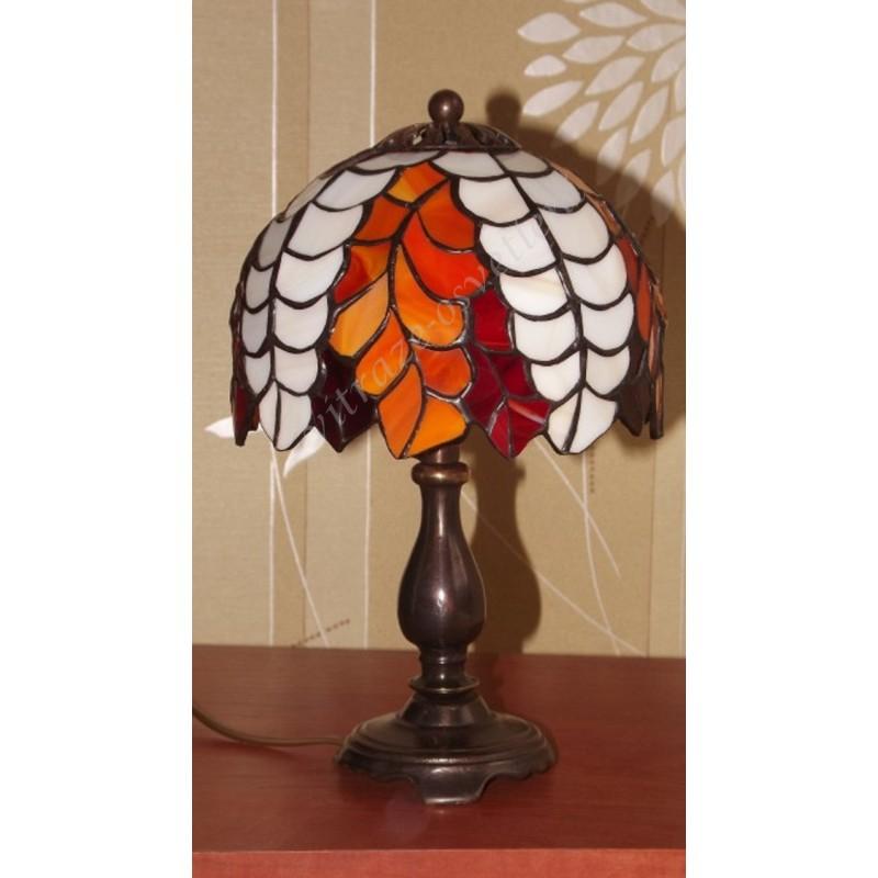 Vitrážová stolní lampa PW16