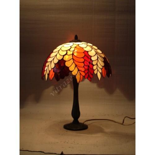 Vitrážová stolní lampa PW30