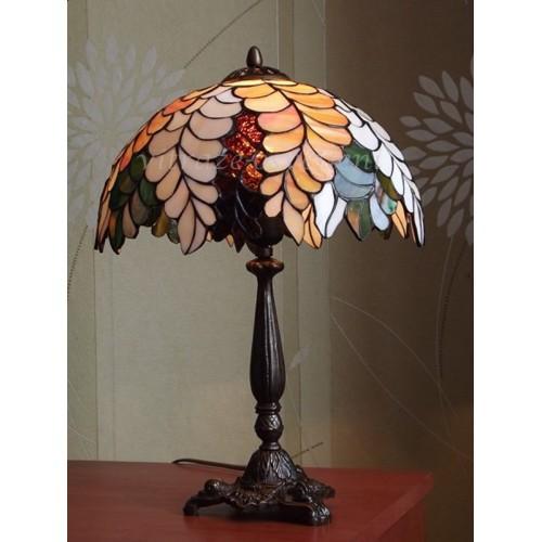 Vitrážová stolní lampa PW30-3