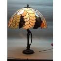 Vitrážová stolní lampa PW40
