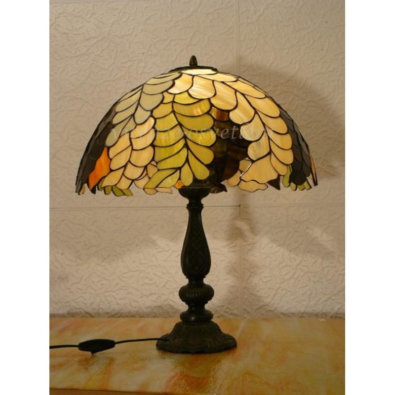 Vitrážová stolní lampa PW40-2