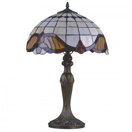Stolní lampa Tiffany G161122 Barok 40 (Kando)