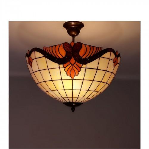 Tiffany stropní lustr Baroko 40 (VO)