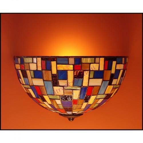 Vitrážové nástěnné svítidlo Moza 30N