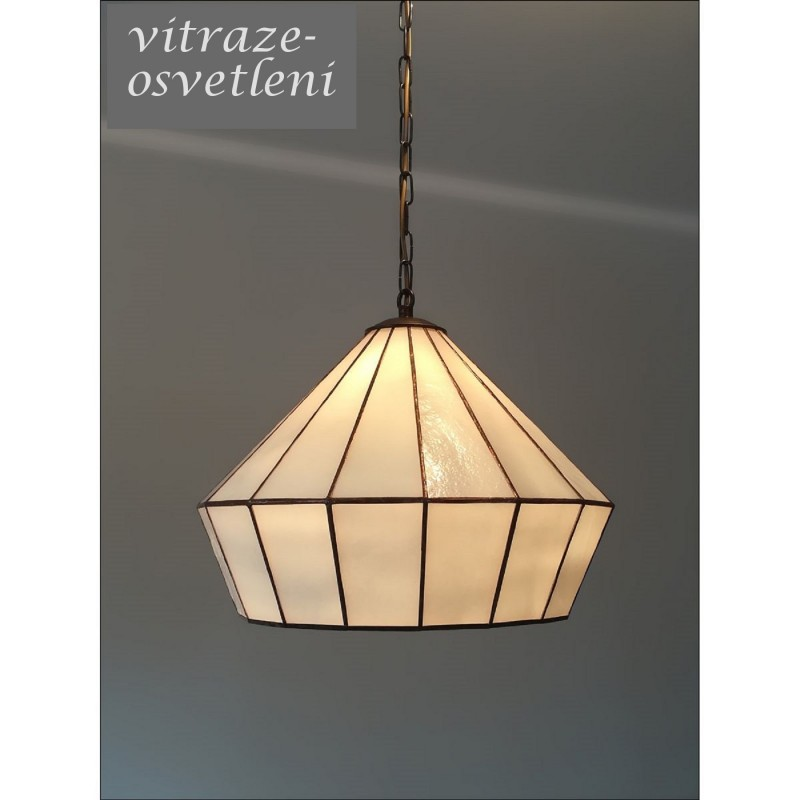 Vitrážový lustr Arted 40