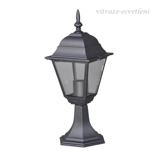 Zahradní lampa 15019S/NC, v.42 cm, 1xE27/60W