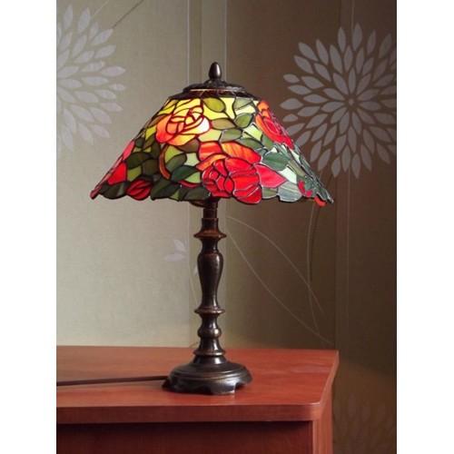 Vitrážová stolní lampa PSRS 27