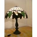 Vitrážová stolní lampa Hrozny PLH40 (VO)