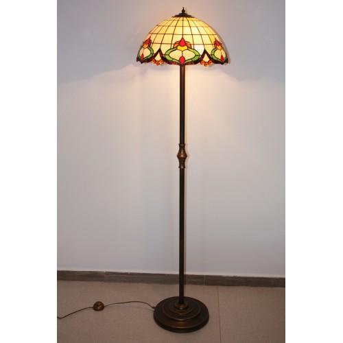 Vitrážová stojací lampa L2ALR 40 Rokaj
