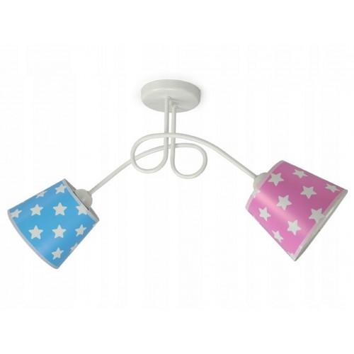 Lustr dětský stropní LED LUX262-X2