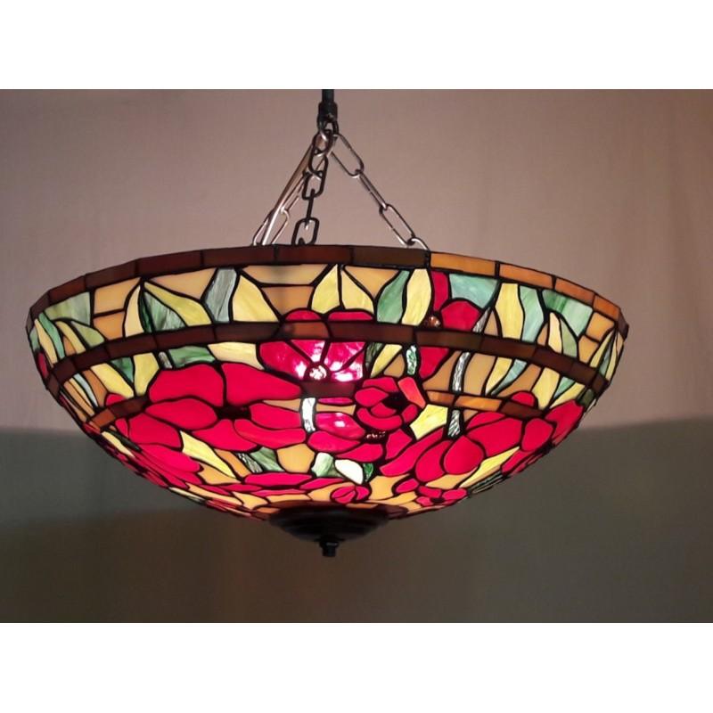 Vitážový stropní-závěsný lustr PVM 40