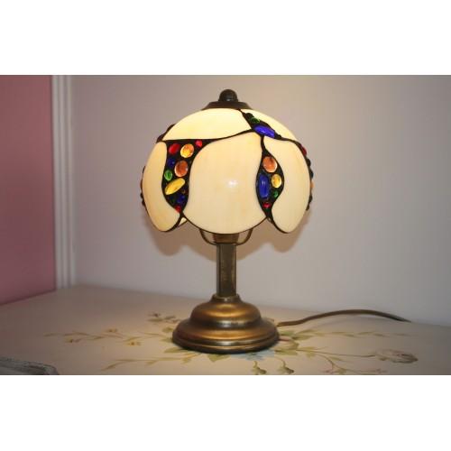 Vitrážová stolní Tiffany lampička CL 19 (VO)